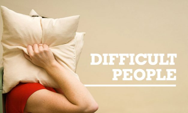 Want a tip for dealing with difficult people?